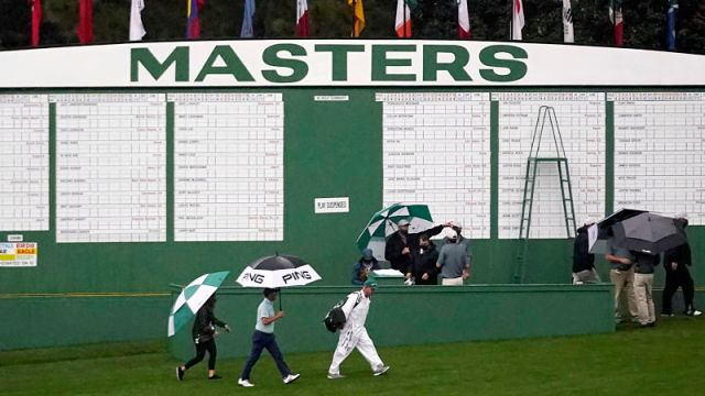 2020 Masters first round