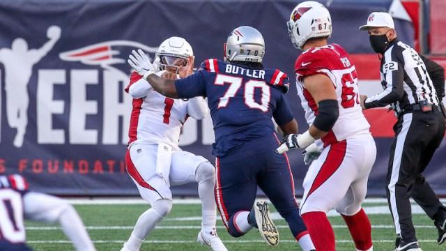 Patriots defensive tackle Adam Butler