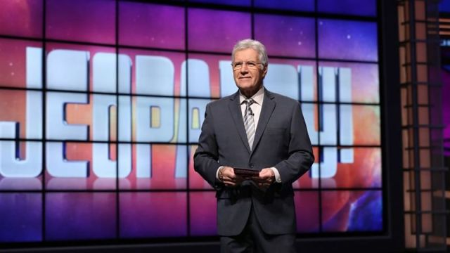 Late 'Jeopardy!' host Alex Trebek