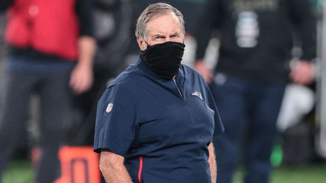 New England Patriots head coach Bill Belichick