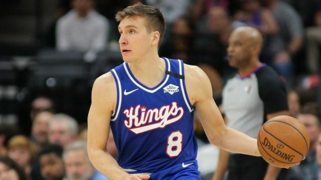 Sacramento Kings guard Bogdan Bogdanovic