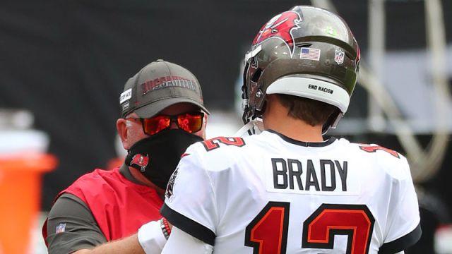 Bruce Arians, Tom Brady