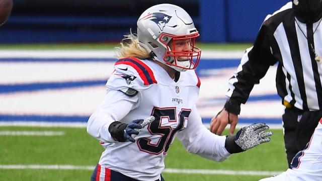 Patriots linebacker Chase Winovich