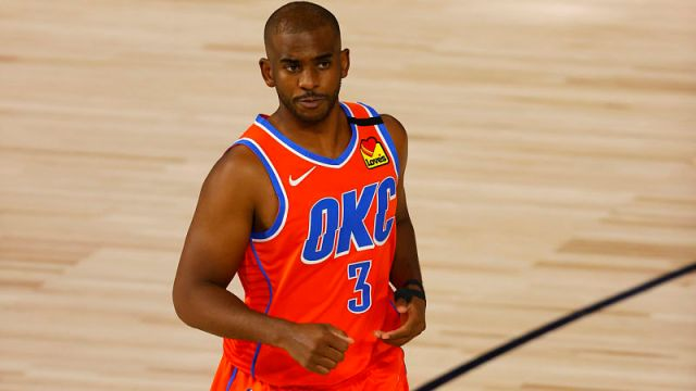 Oklahoma City Thunder point guard Chris Paul