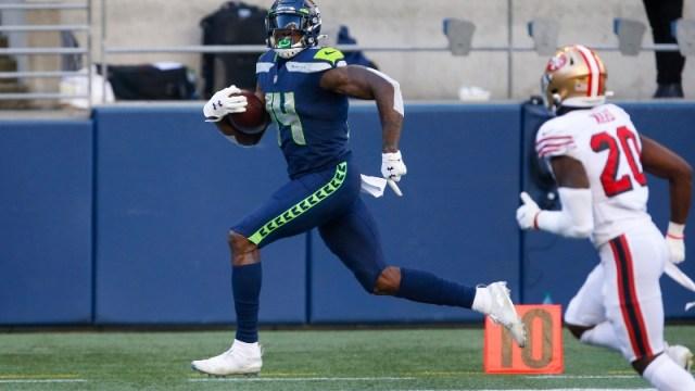 Seattle Seahawks wide receiver DK Metcalf (14)