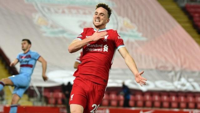 Liverpool forward Diogo Jota
