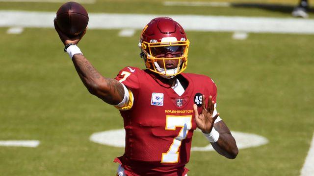 Washington Football Team quarterback Dwayne Haskins