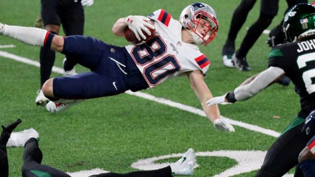 New England Patriots wide receiver Gunner Olszewski