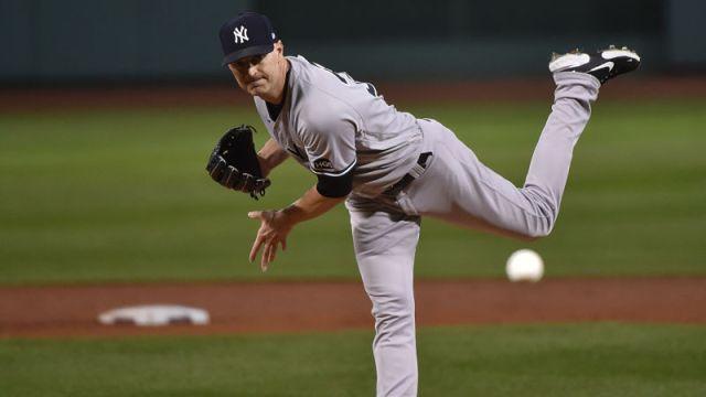New York Yankees pitcher J.A. Happ