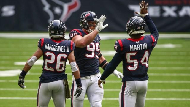 Houston Texans defensive end J.J. Watt