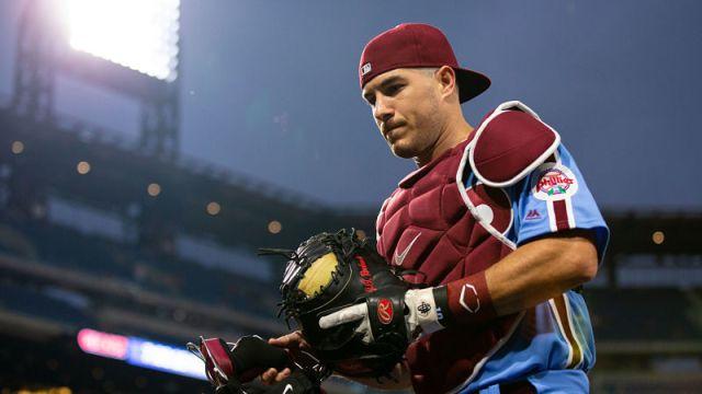 Philadelphia Phillies catcher J.T. Realmuto