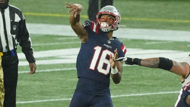 New England Patriots wide receiver Jakobi Meyers