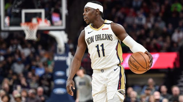 New Orleans Pelicans guard Jrue Holiday
