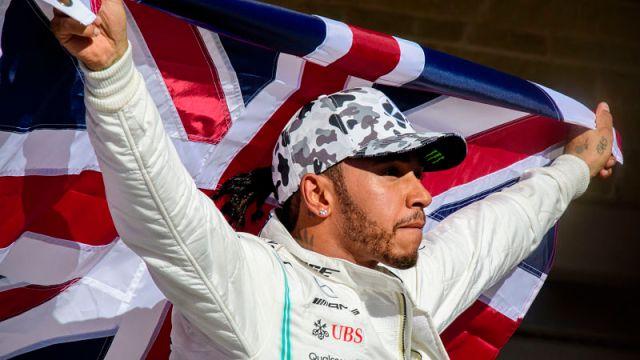 Formula One driver Lewis Hamilton
