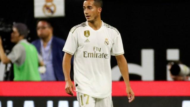 Real Madrid forward Lucas Vazquez (17)