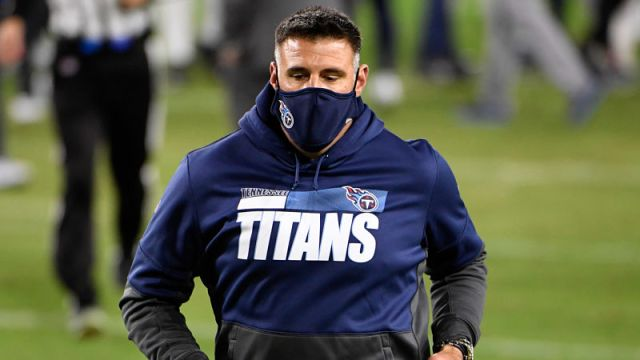 Tennessee Titans head coach Mike Vrabel