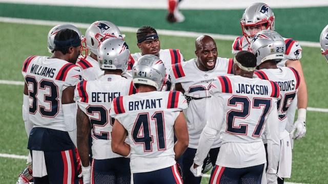 New England Patriots defensive backs