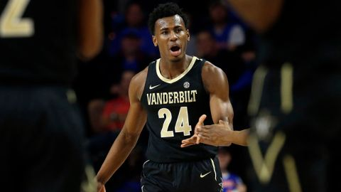 Vanderbilt Commodores forward Aaron Nesmith