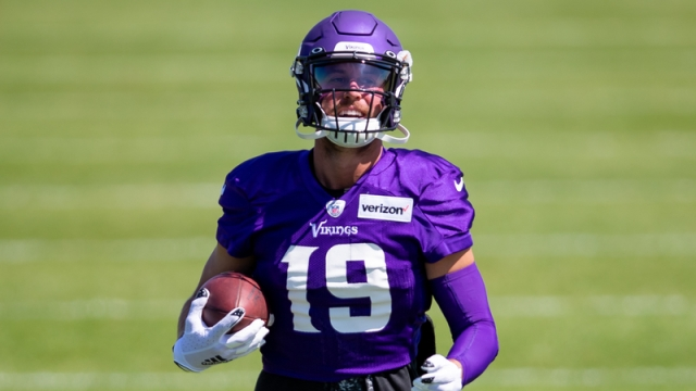 Minnesota Vikings Wide Receiver Adam Thielen