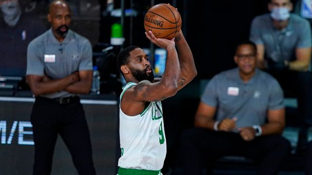 Former Boston Celtics guard Brad Wanamaker