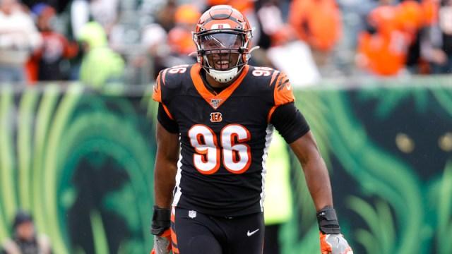 Cincinnati Bengals defensive end Carlos Dunlap