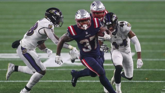 New England Patriots Runningback Damien Harris