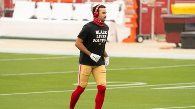 San Francisco 49ers wide receiver Dante Pettis