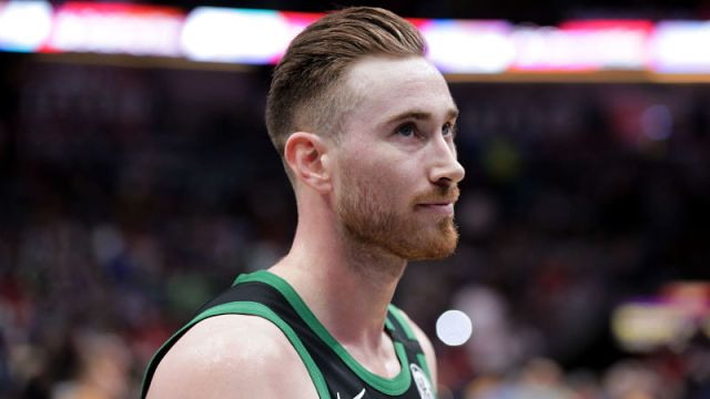 Charlotte Hornets forward Gordon Hayward