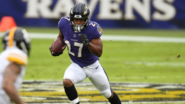 Baltimore Ravens Running Back J.K. Dobbins