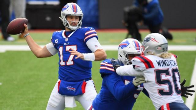 Buffalo Bills' Josh Allen