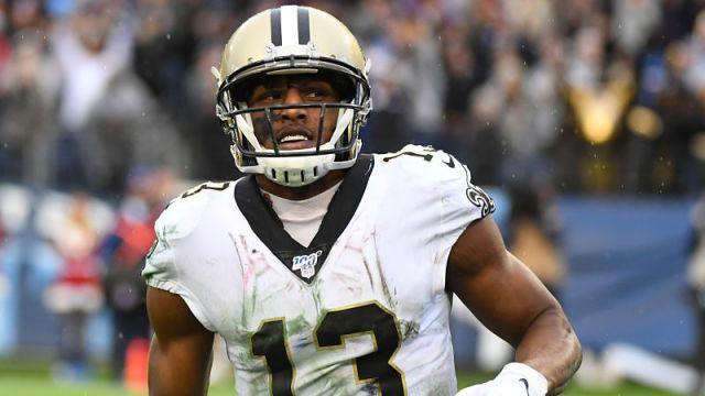 New Orleans Saints receiver Michael Thomas