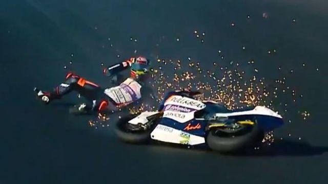 MotoGP driver Aron Canet