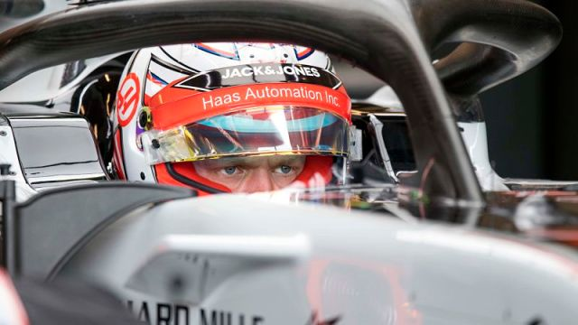 Formula One driver Romain Grosjean