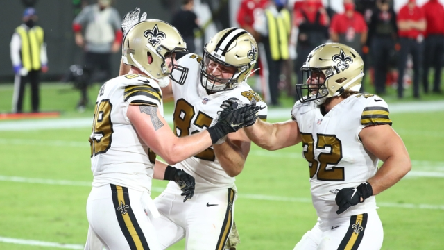 New Orleans Saints tight end Josh Hill