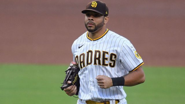 San Diego Padres left fielder Tommy Pham