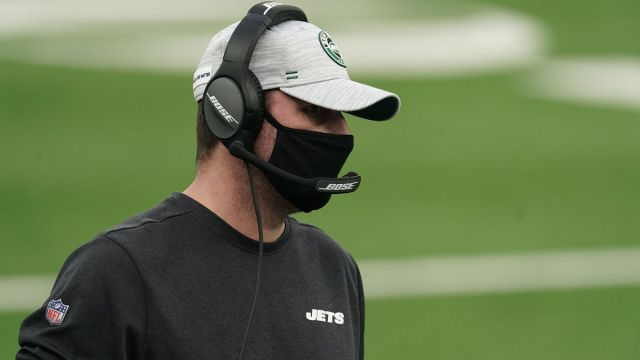 New York Jets head coach Adam Gase