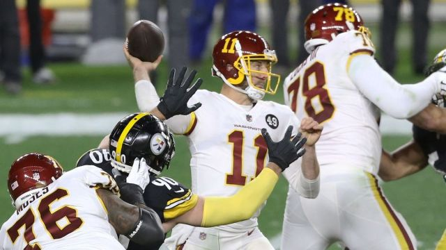 Washington Football Team quarterback Alex Smith
