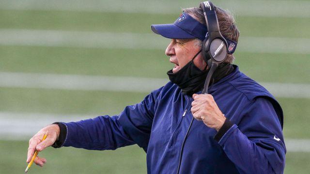 New England Patriots coach Bill Belichick