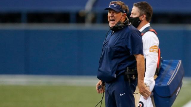 New England Patriots head coach Bill Belichick