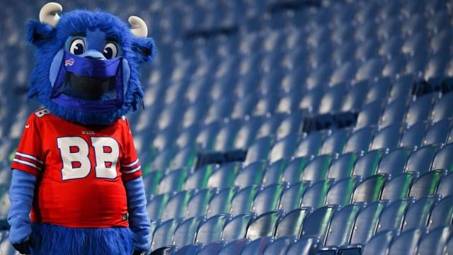 Buffalo Bills mascot Billy Buffalo