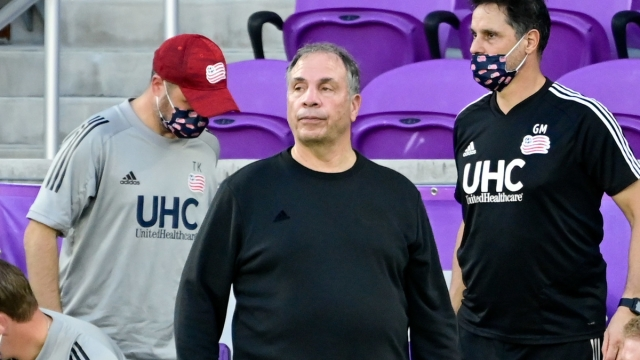 New England Revolution MLS Bruce Arena
