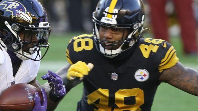 Pittsburgh Steelers linebacker Bud Dupree