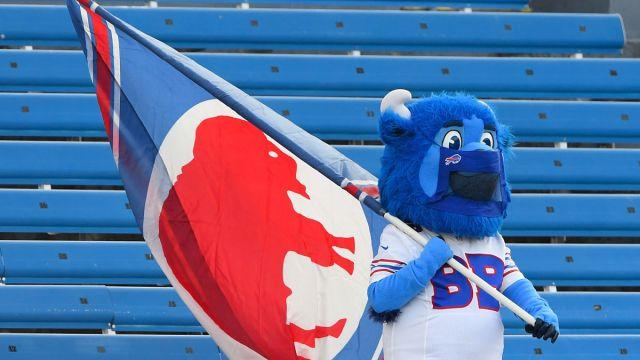 Buffalo Bills mascot