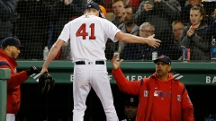 Boston Red Sox Pitcher Chris Sale And Manager Alex Cora