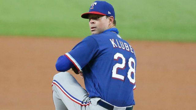 MLB picher Corey Kluber