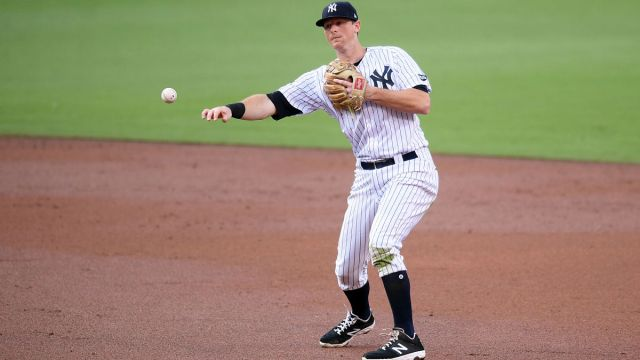 Major League Baseball infielder D.J. LeMahieu