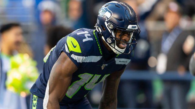 Seattle Seahawks wide receiver DK Metcalf