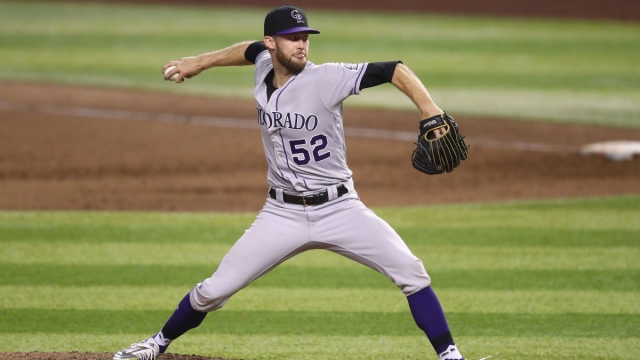 Colorado Rockies Pitcher Daniel Bard