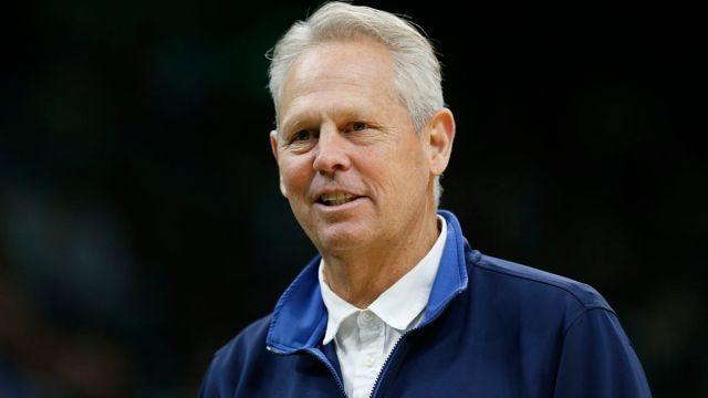 Boston Celtics president of basketball operations Danny Ainge