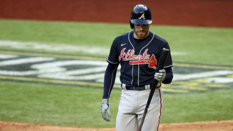 Atlanta Braves first baseman Freddie Freeman